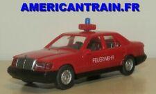 Véhicules de pompiers miniatures WIKING Mercedes