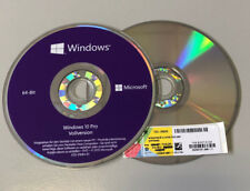 Microsoft Windows 10 pro COA Key  plus DVD 64 Bit Deutsche Vollversion OEM