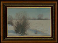 C. Crocker - Signed and Framed 20th Century Oil, January