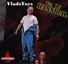 Ourworld 1/6 Anthony Hopkins Silence of the Lambs Hannibal Lecter 2.0 FS012 USA