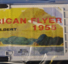 S Gauge American Flyer 1955 Catalog Art Boxcar - Unused Old Stock - Nice Car!