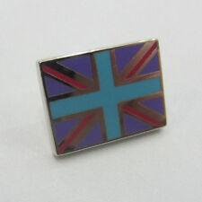 Paul Smith Union Jack Pin Badge Purple With Blue Cross RRP £35