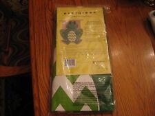 "New listing Nip Evergreen Burlap Smiling Summer Frog House Flag, 31"" X 39"""