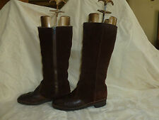 LADIES VTG  BREVITT  REAL SHEEPSKIN BOOTS UK 5.5 BRITISH MADE