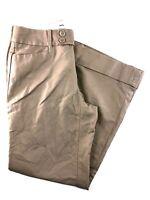 Banana Republic Jackson Fit Tan Cuffed Full Leg Women's Pants Size 6S