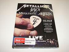 The Big Four: Live from Sophia, Bulgaria - DVD -  Megadeth - Metallica REGION 2