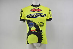 Verge V Gear Yucaipa Bike Men's S/S Cycling Jersey, Neon Yel, FZ, XS, Brand New