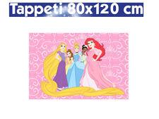 TAPPETO CAMERA STAMPA DIGITALE BAMBINA DISNEY 80x120cm PRINCESS PRINCIPESSA ROSA