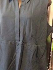 J Jill Sleeveless Knit Top Deep Sea Green V Neck Size Large NWT J02