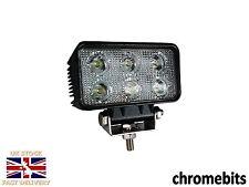 2x rectangulaire 6 LED wor PHARES 800LM Flux Lampe 12V 24V Bateau ATV MOTO