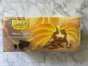 Dragon Shield Nest 300+ 2-Piece Magnetic Deck Box and Dice Tray MTG CCG SEALED