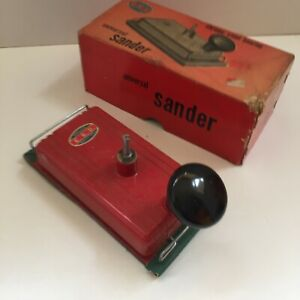 Vintage Universal Sander Red Chrome Steel Bearing EBD