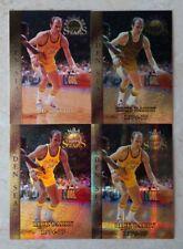 TOPPS FINEST NBA STARS 1996 RICK BARRY GOLDEN SEASON RAINBOW ATOMIC REFRACTOR