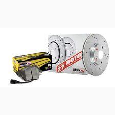 Disc Brake Pad and Rotor Kit-Sector 27 Brake Kits Rear Hawk Perf HK5359.572Z