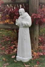 St. Padre Pio Stigmatist 23 inch Outdoor Garden Statue Indestructible Polyuretha