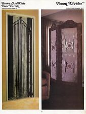 Room Divider & Door Curtain Patterns in Macrame for Home Decor #819 Craft Book