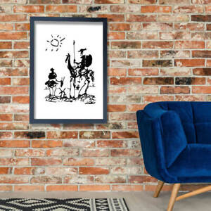 Pablo Picasso - Don Quixote Wall Art Poster Print
