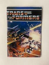 Transformers Vintage G1 1984 Autobots Decepticons Checklist Catalog Insert