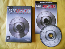 PC GAME-SAFECRACKER-SAFE CRACKER-Computer-Gioco-Games-ITALIANO-ITA