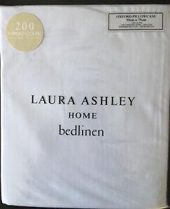 Laura Ashley Seaspray Oxford Pillowcase Pair 200TC