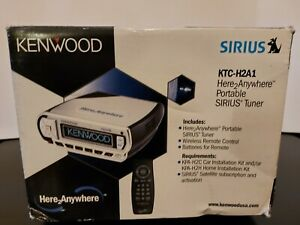 Kenwood KTC-H2A1 Sirius/XM Here2Anywhere Portable Tuner (used, in box)
