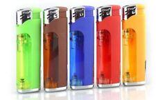 50 Pack Multi Purpose Cigarette Lighter w/ LED Slide Switch Refillable