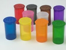Box Of Single Colour 315 Pop Top Pots 13 Dram Translucent Colours Available
