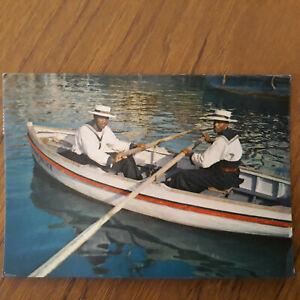 Postcard West Indies The Harbour Police Barbados Postcard