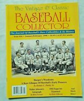 The Vintage & Classic Baseball Collector magazine #14 January/February 1998