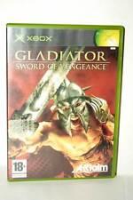 GLADIATOR SWORD OF VENGEANCE USATO OTTIMO STATO XBOX ED ITALIANA PAL FR1 38721