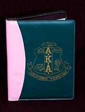 Kappa Alpha Psi Vinyl Padfolio with Crest