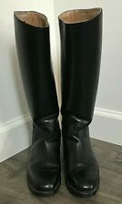 Equestrian Riding Boots Size 6 Eur. Sz 36 Tall Black By Cavallo Made in Germany