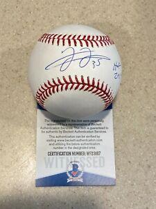 Frank Thomas signed OML baseball w/ HOF 14 ** Beckett **