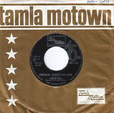 Marvin Gaye~Original UK 45 Abraham Martin & John EX 1969 Motown Soul TMG734