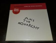 Morrissey Axe To Anarchy Low In High School Clear vinyl Box sex  [ Smiths] ltd