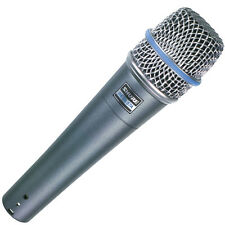 Shure Beta 57A Supercardioid Dynamic Instrument Microphone.U.S Authorized Dealer