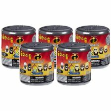 New 5 Pixar The Incredibles 2 Blind Mash'ems Capsules Mystery Figures Official