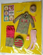 Very RARE Cute Vintage Barbie Francie Clothes NRFC #1286 Tweed-somes 1967