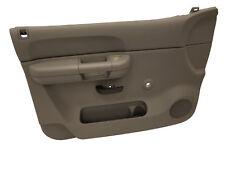 20833602 Front Left Door Panel Silverado Sierra Manual Windows w/Power Door Lock