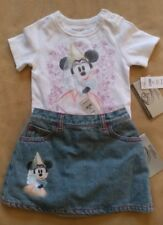 NWT BOUTIQUE DISNEY MINNIE MOUSE  SKIRT AND TOP Size 18 mo