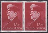 Nazi  Germany 3rd Reich  Hitler's  52nd Birthday Pair Superb MNH!!