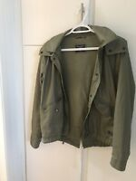 Abercrombie Fitch Military Anorak Jacket Small