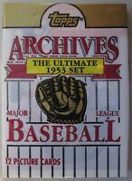 1953 Topps Archives Unopened Pack with Mickey Mantle on top New York Yankees