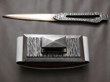 antique art deco set of Blotter & letter opener by Michel ZADOUNAISKY