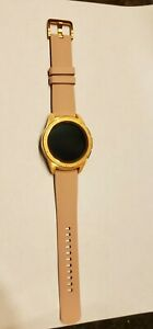 Samsung Galaxy 42mm Stainless Steel Case 200 Rose Gold Band Smartwatch (SM-R815…