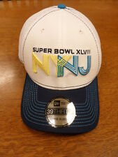 NEW NY/NJ NFL Super Bowl XLVIII New Era Mens HAT CAP L/XL 39Thirty Seahawks