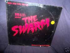 THE SWARM 1978 SOUNDTRACK VINYL LP GOLDSMITH MINT! SEALED! RARE! ORIGINAL!