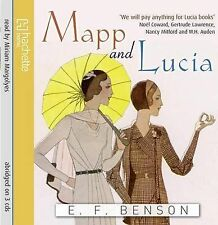 Mapp and Lucia  by E.F. Benson Audio Cd  Read by Miriam Margolyes