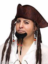 "Pirate Goatee 5""  Braids fancy dress costume accessory Caribbean style Beard"