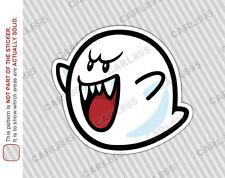 Super Mario Boo Car Truck SUV Vinyl Bumper Sticker